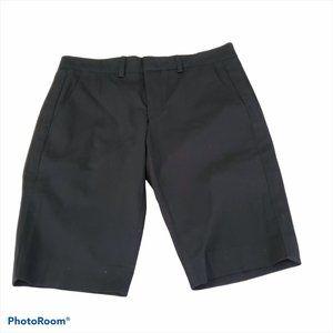Vince Womens Black Bermuda Shorts Size 4